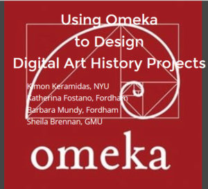 Using Omeka to Design Digital Art History Projects opening slide